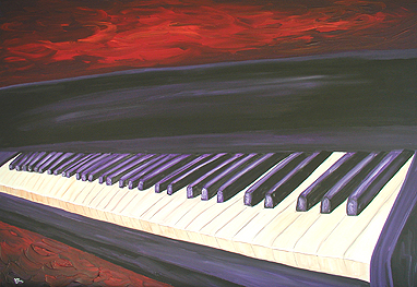 piano painting
