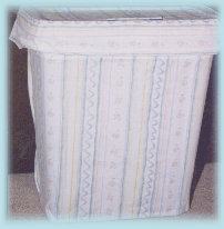 fabric hamper